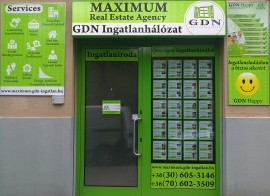GDN Ingatlanhálózat - MAXIMUM ingatlaniroda real estate offices